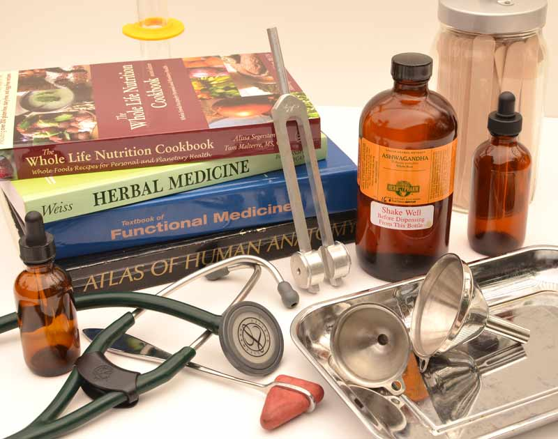 Naturopathic-medicine books etc